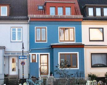 Dänische Fenster für Stadthäuser